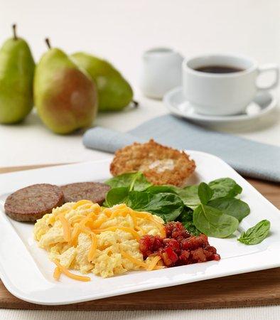 Moosic, Pensylwania: Hot & Healthy SpringHill Suites Breakfast