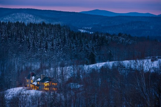 Barnard, VT: Farmhouse Night