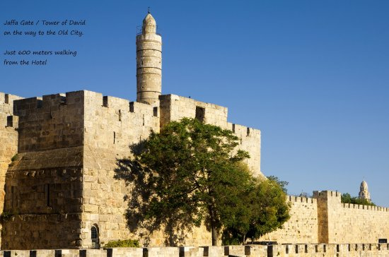 Eldan Hotel: Tower Of David