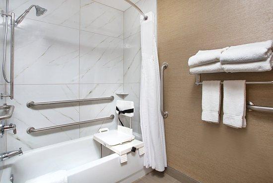 Berea, Кентукки: Accessible Guest Bathroom