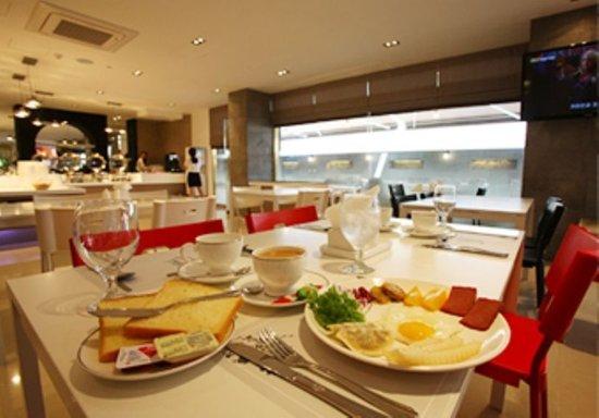 Reve Hotel: Restaurant