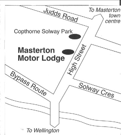 Masterton, New Zealand: Map