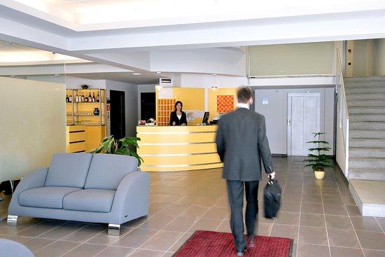 Fossano, Italy: Hotel hall