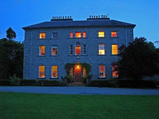 Riverstown, Ierland: Coopershill House At Night