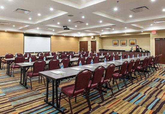 Vernon, Canadá: Swan Lake Meeting Room - Classroom Setup