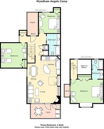 Angels Camp Three-Bedroom Floor Plan