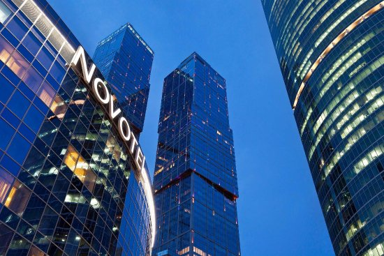 Novotel Moscow City : Exterior