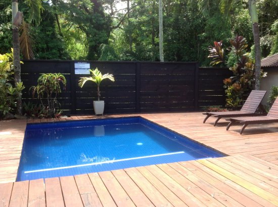 Sea Change Villas: All rooms have there own pool.