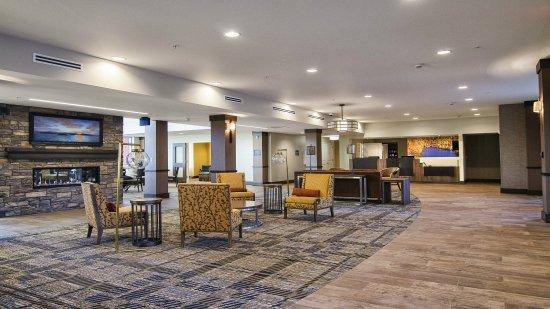 Marquette, MI: Hotel Lobby