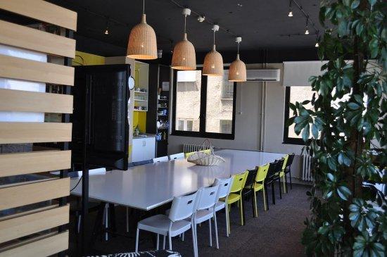 Hostel Fair: breakfast room