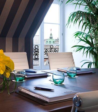 Paris Marriott Opera Ambassador Hotel : Rooftop Meeting Room View