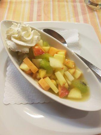 Morel, Suiza: Dessert