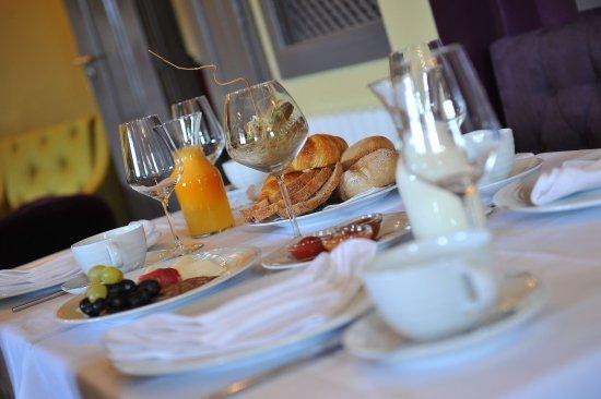 Arganil, Portekiz: Breakfast