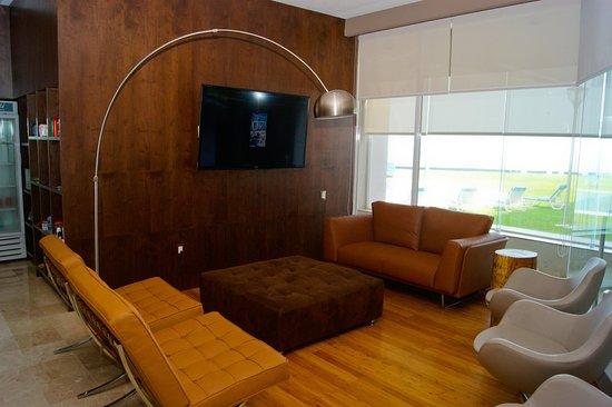 Hilton Garden Inn Boca del Rio Veracruz: Pantry Seating