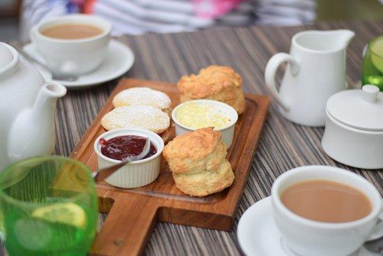 Highworth, UK: Tea room