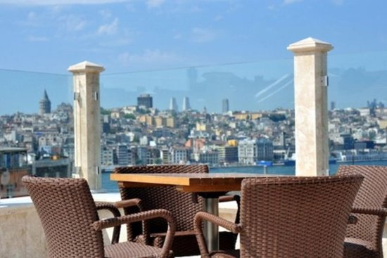 Neorion Hotel: Roof terrace