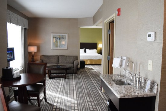 Holiday Inn Express Hotels Geneva Finger Lakes: This Jacuzzi Suite Is Truly  One Of A