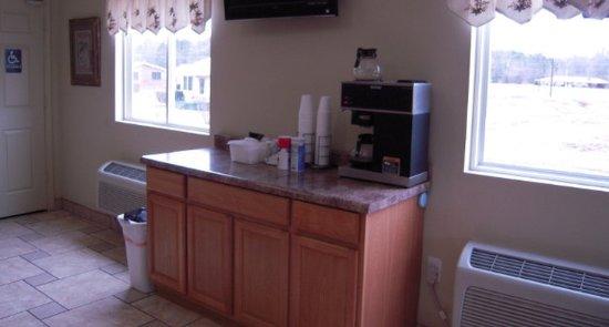 Piedmont, ألاباما: Breakfast Area