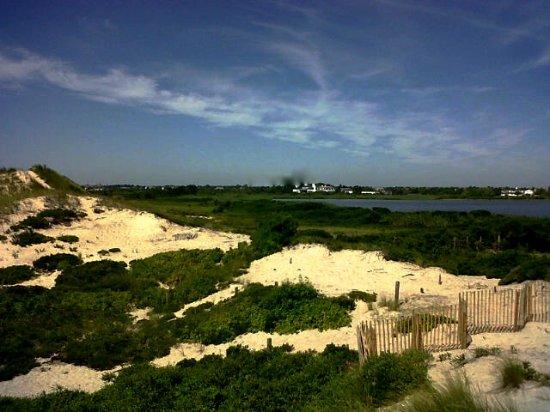 Bay view at Flying Point Beach Southampton NY