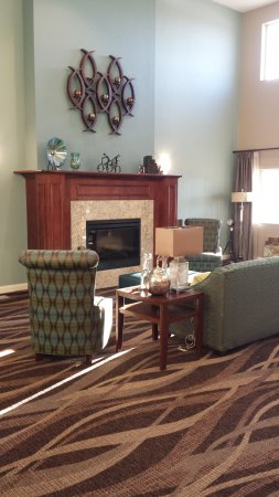 Chisago City, MN: Lobby view