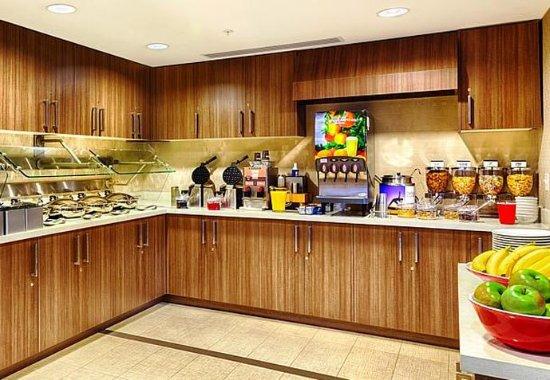 Pullman, WA: Breakfast Buffet Area