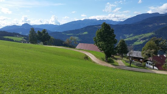 Ljubno, Slovenia: The view above the farm