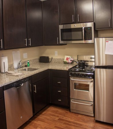 Port Arthur, TX: Two-Bedroom Suite Kitchen