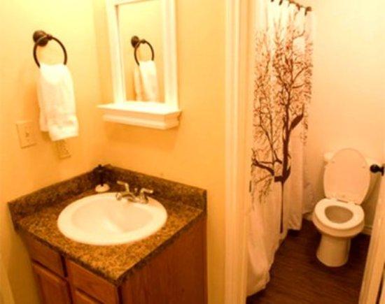 Center, Teksas: Bathroom