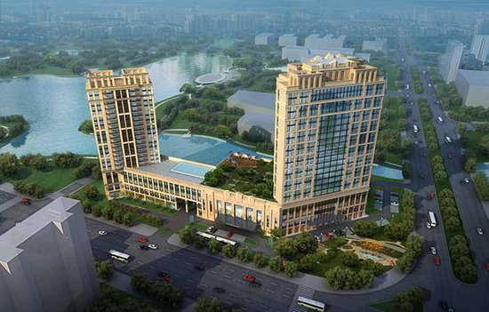 Changde, China: Exterior Rendering