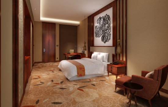 Changde, China: Deluxe Room Rendering