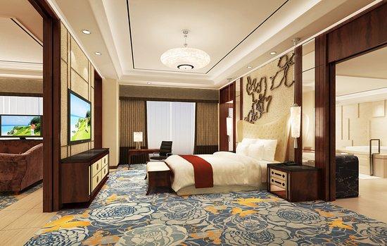Τσάνγκντε, Κίνα: Premier Suite Rendering