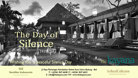 Nyepi day greetings picture of the kayana bali seminyak tripadvisor the kayana bali nyepi day greetings m4hsunfo