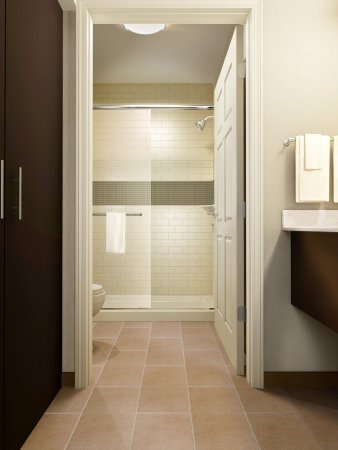 College Station, TX: Seperate shower area in all floor plans