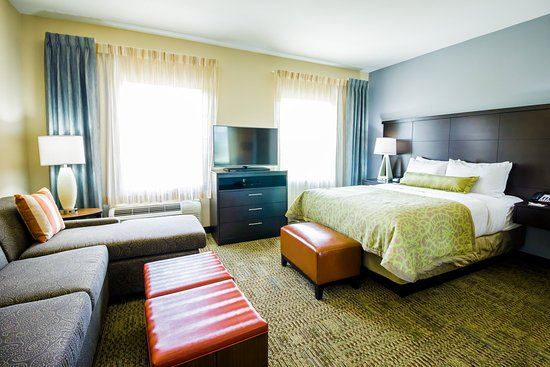 Staybridge Suites Plano Frisco: Single Bed Guest Room