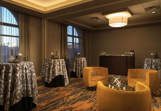 Lansdale, Pensilvania: Forum Ballroom   Reception Setup