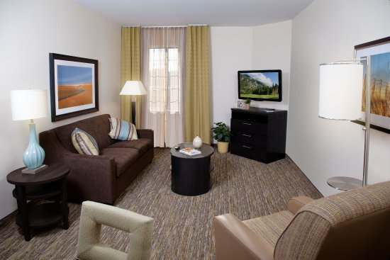 Carrollton, OH: One Bedroom Suite-Living Room