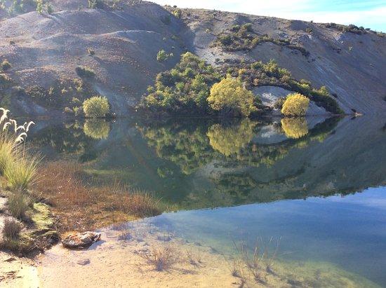 St. Bathans, Nouvelle-Zélande : Blue lake