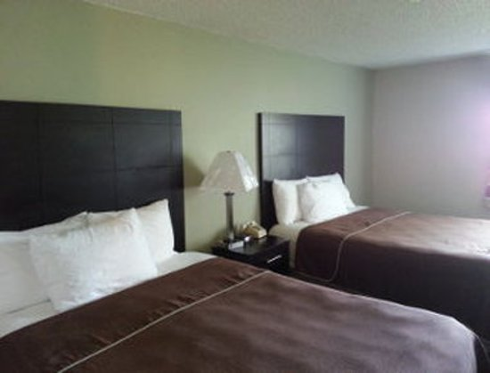 Baymont Inn & Suites Beloit: Standard Two Bed Room