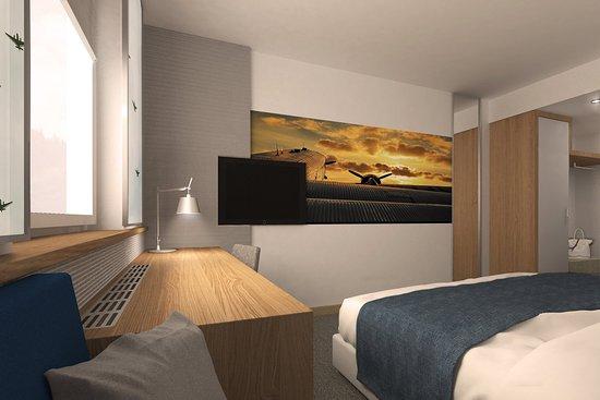 Leinfelden-Echterdingen, Germany: Guest room