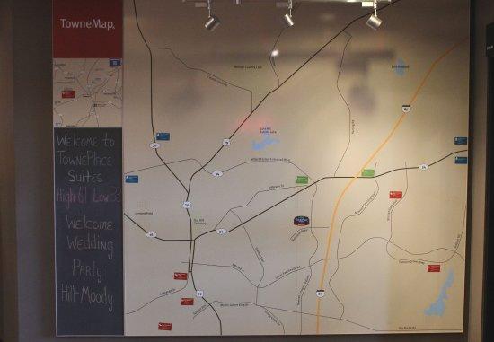 Newnan, Géorgie : TowneMap