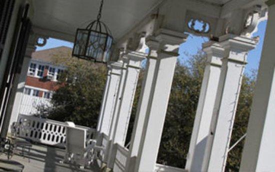 Thibodaux, LA: Dansereau House Porch Angled