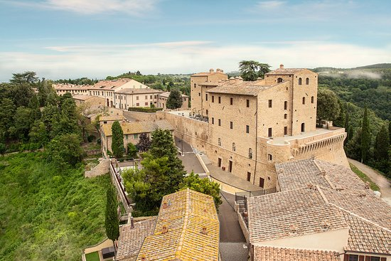 Montaione, Italy: Castle View