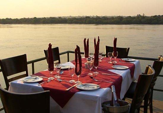 Katima Mulilo, Namibia: Outdoor Dining Area