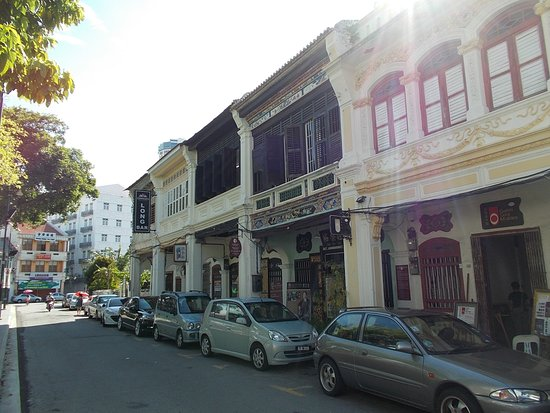 Sun Yat Sen Museum: The house seen from just outside on Lebuh Armenian