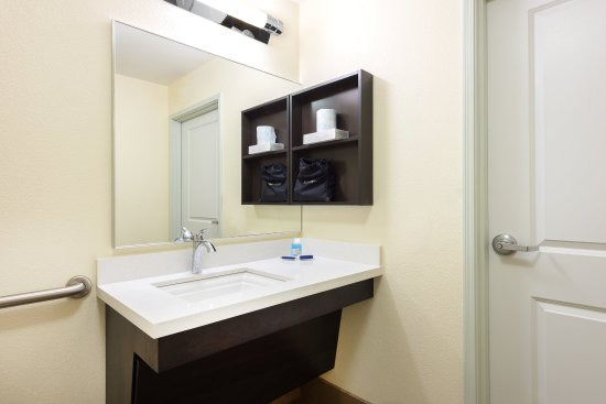 ada/handicapped accessible guest bathroom vanity - picture of