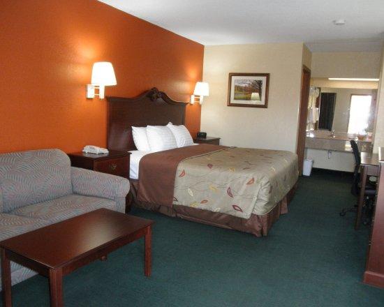 Econo Lodge: Bedroom