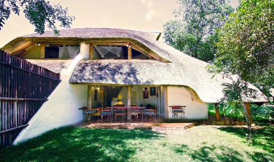 Lokuthula Lodges: Outside lodge area