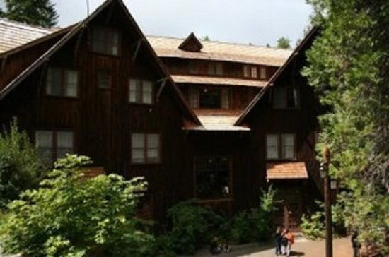 Oregon Caves Lodge: Exterior