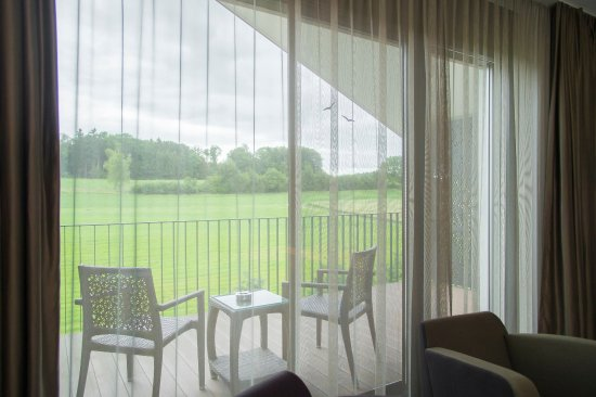 Lipperswil, Suiza: Balcony double room balcony