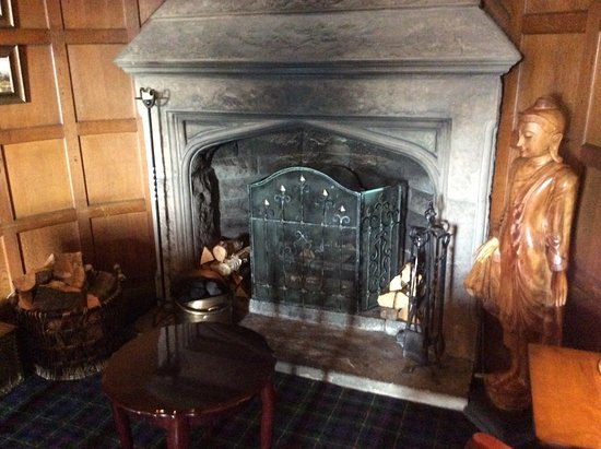 Invergordon, UK: Fireplace
